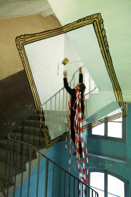 Оптические иллюзии в заброшенных зданиях