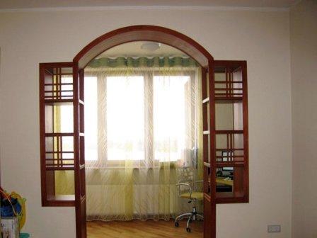 Декор арок в квартире