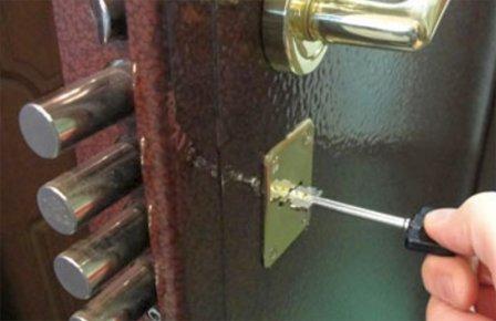 Перекодировка замка входной двери
