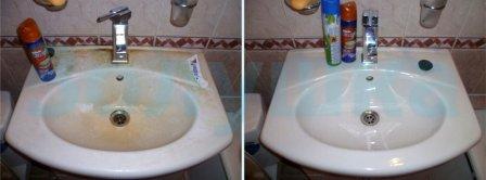 Когда можно применять полироль для ванной комнаты