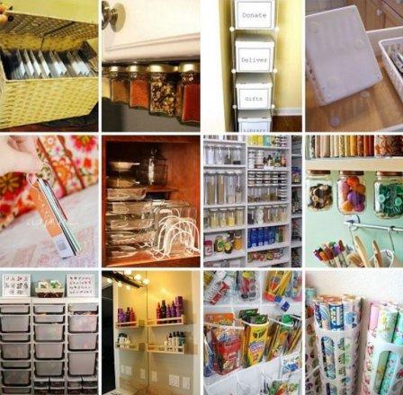 Порядок в доме: куда убрать вещи - фото-идеи
