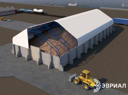 Строительство зерновых и холодильных складов