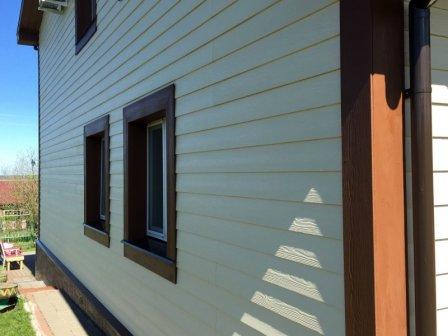 Фиброцементный сайдинг Кедрал - примеры домов