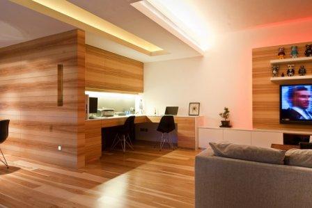 Использование дерева в интерьере дома и квартиры