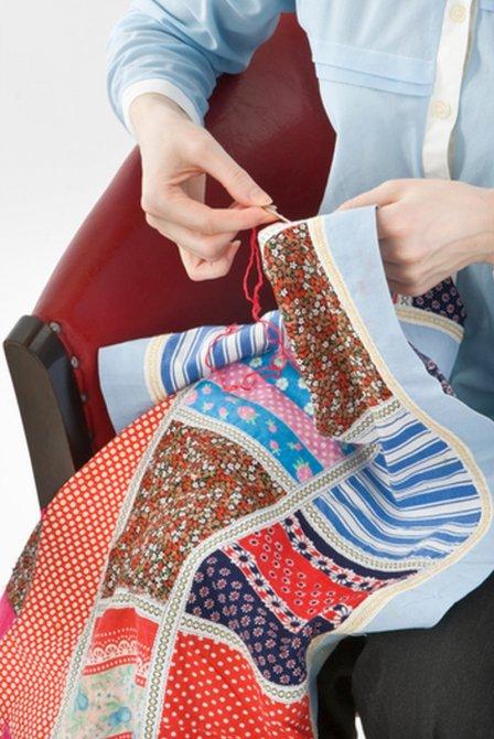 Одеяло в стиле пэчворк своими руками
