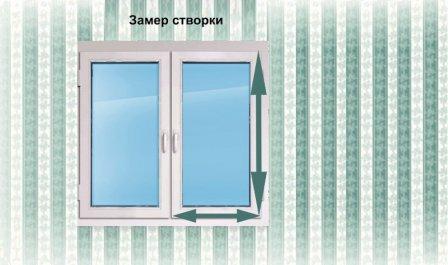 Как замерить размер москитной сетки на пластиковое окно?