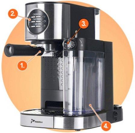 Кофеварка Travola CM 59009-GS - обзор модели + видео