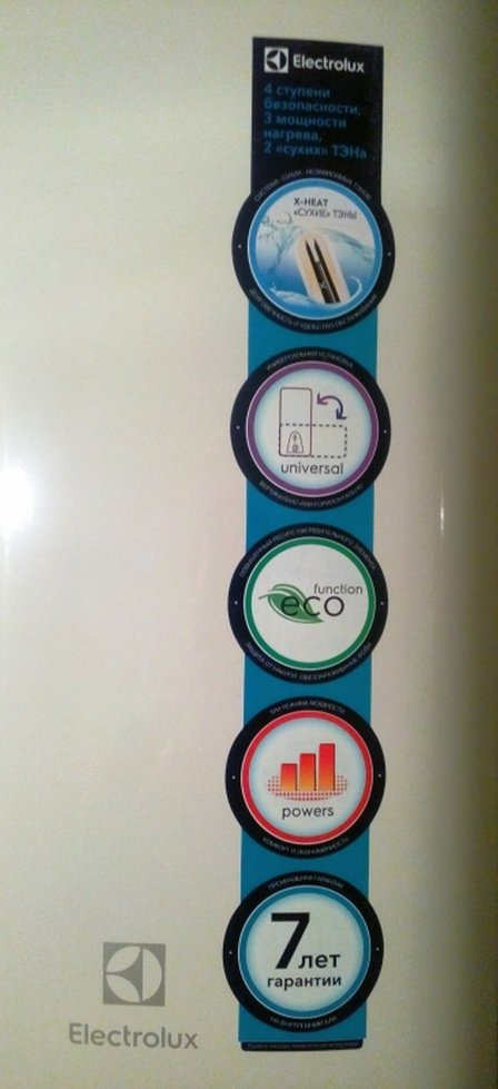 Накопительный водонагреватель Electrolux EWH 50 Formax - обзор