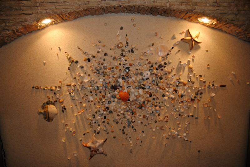 состояние декор стены ракушками фото интересные конструкции
