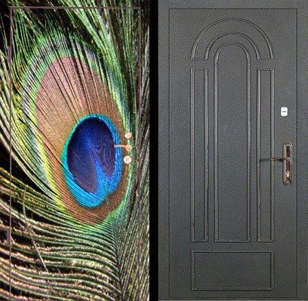 Входные металлические двери с фотопечатью