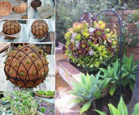 Оригинальные задумки для сада своими руками