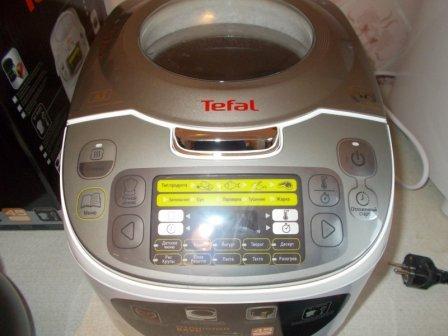 Мультиварка Tefal RK812132: обзор и отзыв