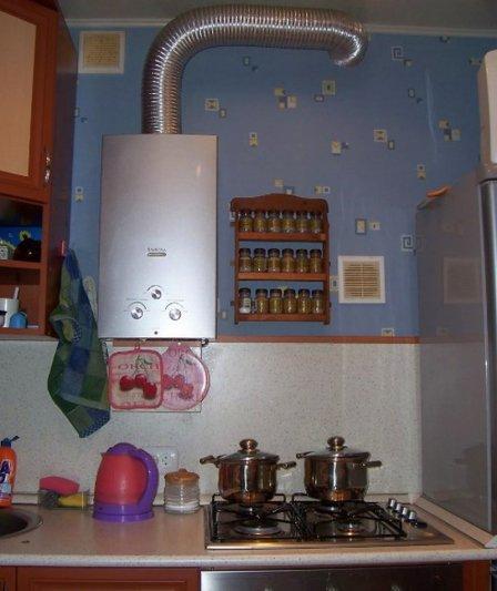 Газовая колонка - бесперебойное горячее водоснабжение