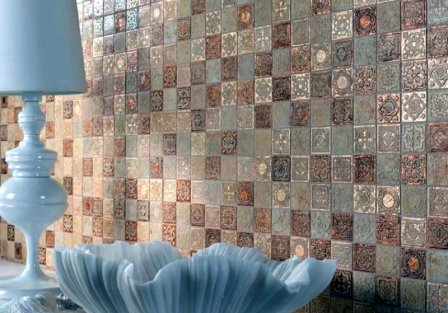 Мозаика в интерьере - фото-идеи