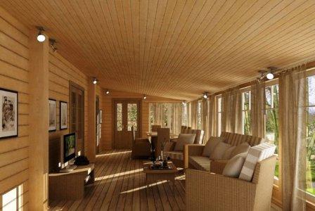 Закрытая терраса – мечта домовладельцев. Поэтапный ремонт помещения