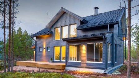 Строительство каркасных загородных домов и коттеджей