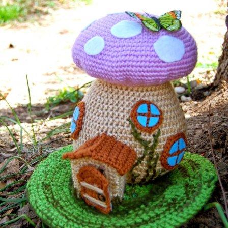 Красивые мелочи для дома связанные крючком