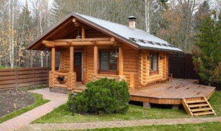 Как построить деревянную баню?