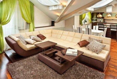 Модульные диваны - современный стиль в интерьере