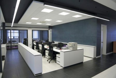 Дизайн оупенспейс офиса