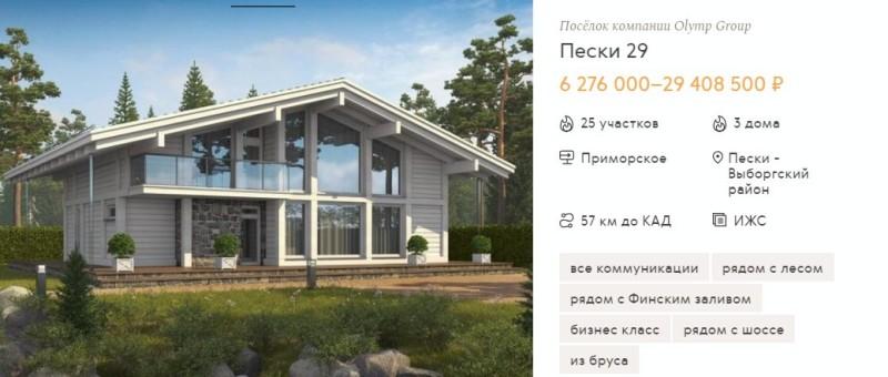 Покупка жилья в коттеджном поселке