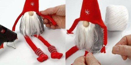 Как сделать новогодние игрушки на елку своими руками?