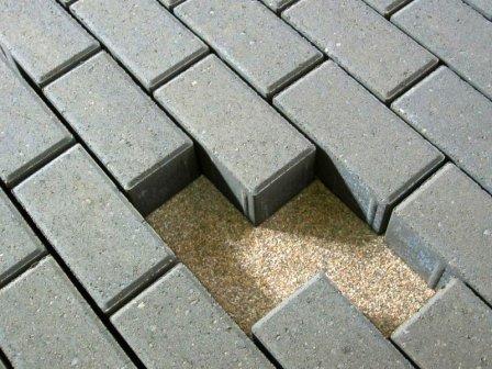 Тротуарная брусчатка из бетона