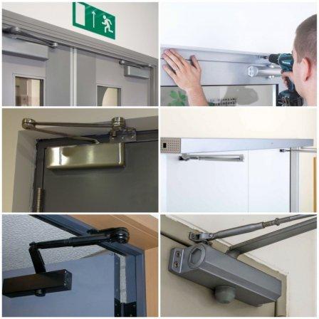Доводчики для входной двери: что собой представляют, виды, критерии выбора