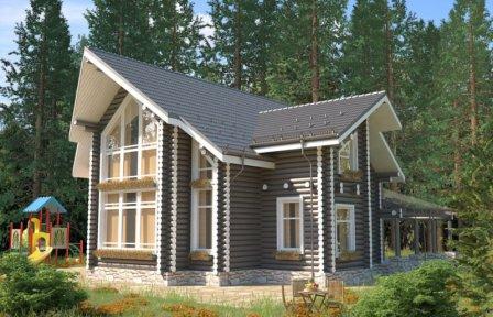 Дома из оцилиндрованного бревна: обзор