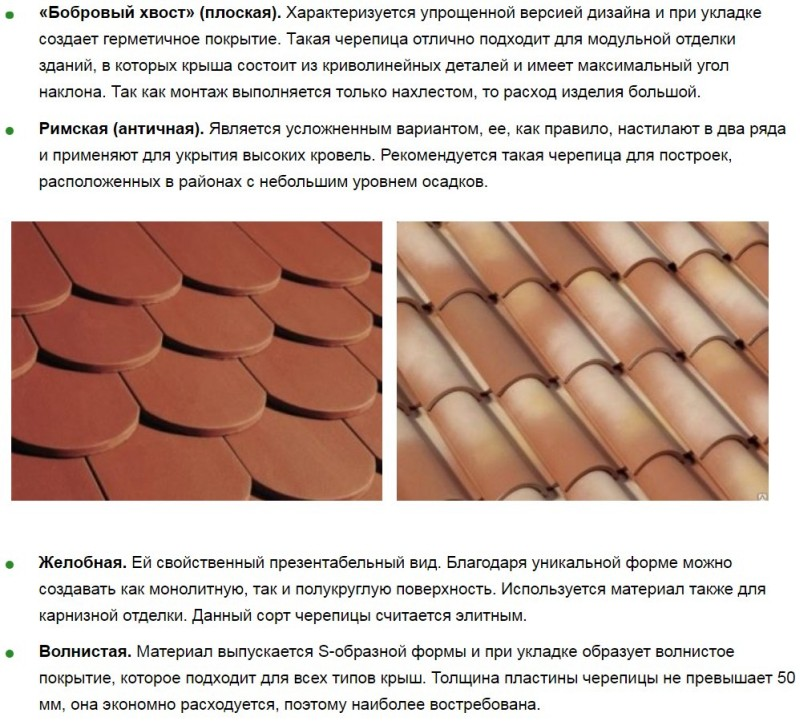 Форма керамической плитки