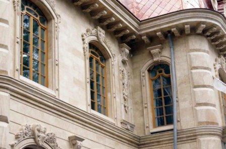 Фасады из травертина – технология монтажа