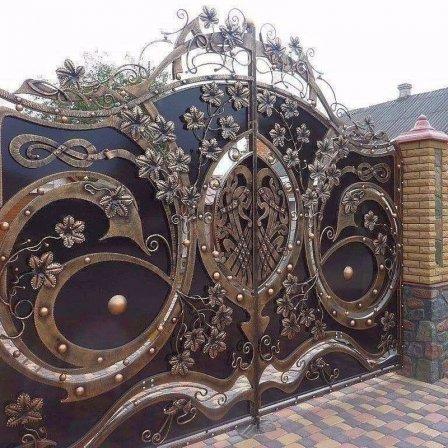Какими бывают кованые ворота?