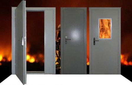 Противопожарные металлические двери - надежная преграда на пути огня