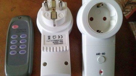 Радиоуправляемые умные розетки с дистанционным пультом управления