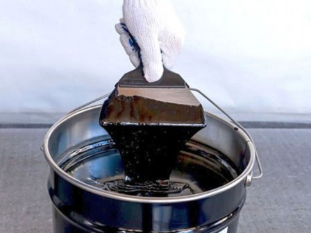 Гидроизоляционная битумная мастика для защиты фундамента