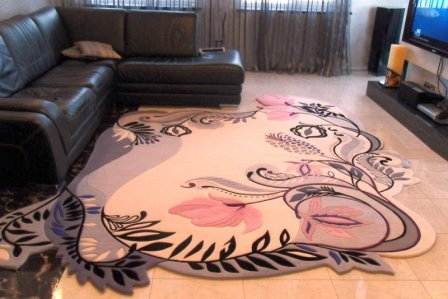 Современные ковры в интерьере