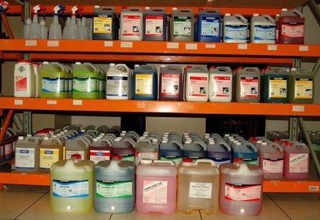 Профессиональная химия для уборки помещений