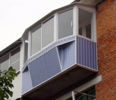 Остекление балкона по всем правилам