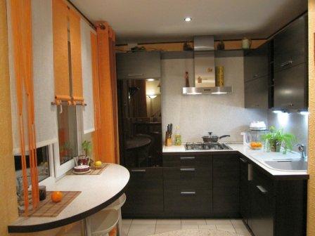 Подбор мебели для маленькой кухни + фото