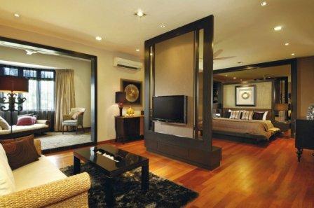 Гостиная-спальня: дизайн