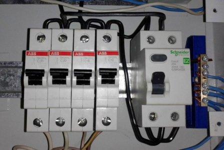 Автоматические выключатели на 20 ампер