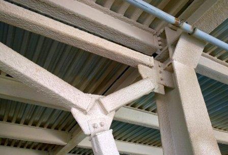 Расчет расхода огнезащитного материала для металлоконструкций