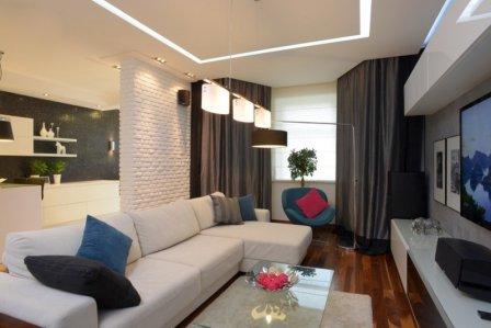 Выбираем и расставляем мебель в гостиной