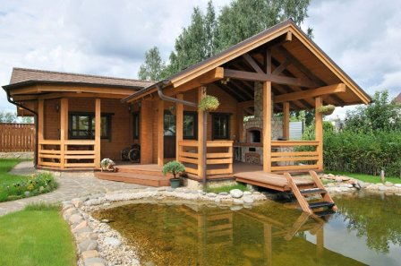 Преимущества домов из дерева