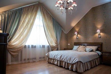 Спальня, способная снять стресс