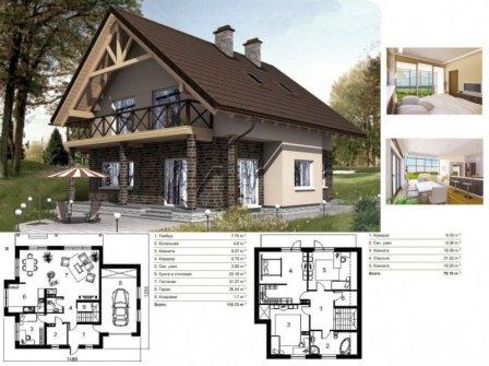 Готовые проекты домов и их преимущества