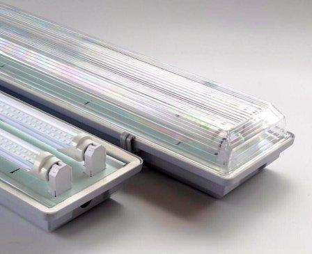 Светодиодные пыле-влагозащищенные светильники