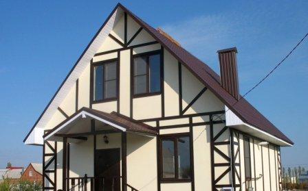 Основные типы каркасных домов