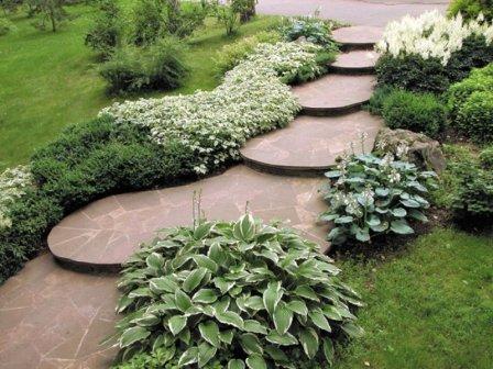 Дорожки для сада - фото-идеи