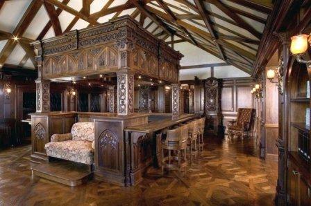 Дизайн дома в готическом стиле